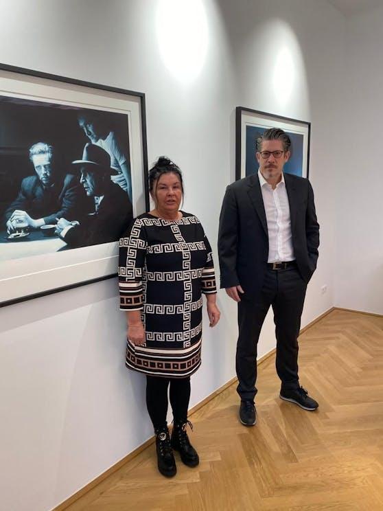 Christa K. (55) mit Anwalt Florian Höllwarth
