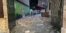 Erneut schweres Erdbeben in Kroatien