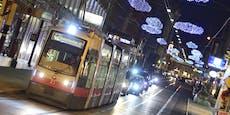 So fahren U-Bahnen, Bims und Busse in Wien zu Silvester