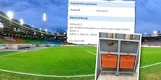 Doppelter Preis! LASK-Stadionsitze auf willhaben.at