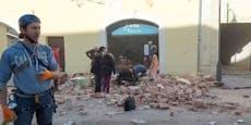 Österreich hilft Erdbeben-Opfern in Kroatien