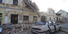 Schon mindestens fünf Todesopfer durch Balkan-Beben