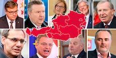ALLE 9 Landeschefs richten Appell anuns Österreicher