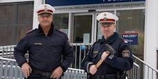 Hammer-Aktion! Polizisten retten bewusstlosen Lenker