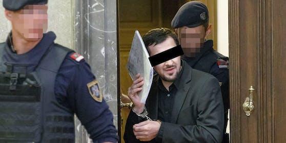 Der verurteilte Terrorist soll einen Anschlag nach seiner Haftentlassung geplant haben.