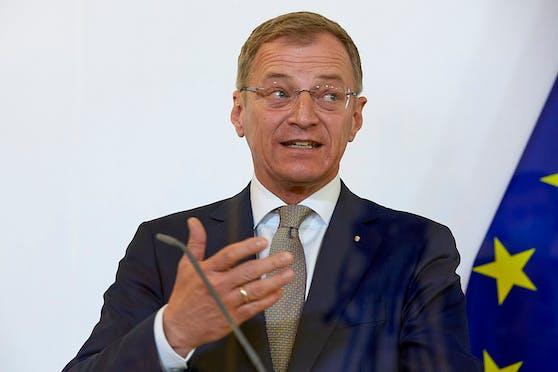 Oberösterreichs Landeshauptmann Thomas Stelzer (ÖVP) hat gute Zustimmungs-Werte.