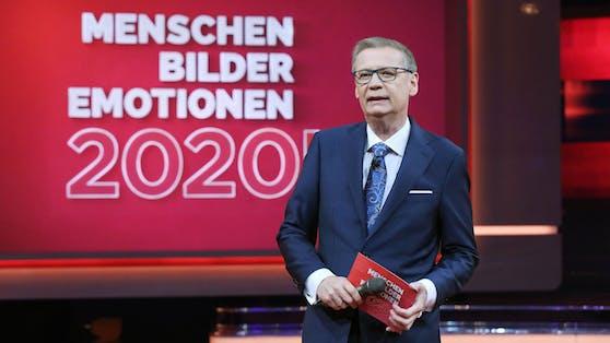 """Günther Jauch führt am kommenden Wochenende durch die Jahresrückblick-Show """"2020! Menschen, Bilder, Emotionen""""."""