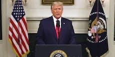 Trump liefert 46 Minuten unbelegte Betrugsvorwürfe