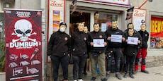 Vermummte Böller-Rebellen provozieren vor Silvester