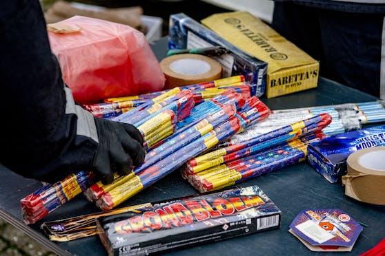 Für ihr Feuerwerk wurden Jugendliche zu Einbrechern.