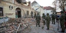 """7 Tote bei Erdbeben: """"Schäden schlimmer als im Krieg"""""""