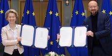 Done Deal! EU segnet Brexit-Abkommen ab