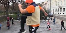 Fitness-Fans demonstrierten vor Bundeskanzleramt