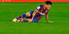 Doppelt bitter für Barca: Coutinho fällt monatelang aus
