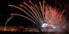Hier findet Österreichs einziges Feuerwerk statt
