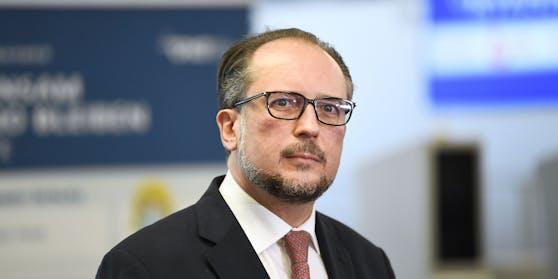 Österreichs Außenminister Alexander Schallenberg.