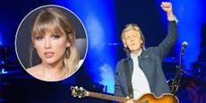 Paul McCartney stößt Taylor Swift vom Album-Thron