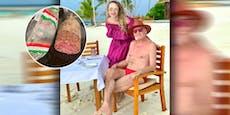 Promi-Paar will Salami, ist sauer wegen Insel-Abzocke