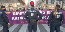 Nach Frauenmorden legte Demo Verkehr in Wien lahm