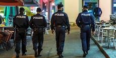 Polizei greift durch, verhängt Platzverbote in Wien