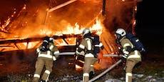 Silvester-Rakete sorgte für Feuerwehr-Großeinsatz