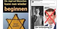 Corona-Nazi-Vergleich sorgt für heftige Kritik