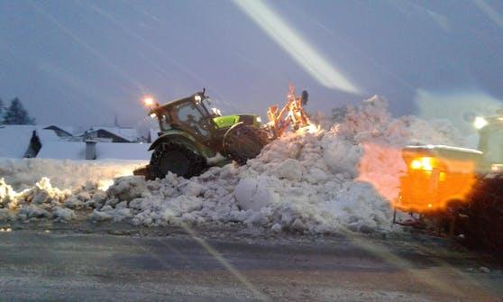 Rekordschnee-Ereignis im Winter 2019: Tausende Helfer standen im Dauereinsatz