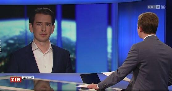 Bundeskanzler Sebastian Kurz (ÖVP) im Interview.