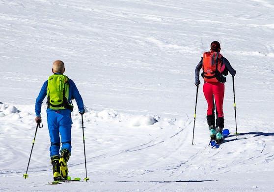 Die Skitourengeher könnten nun zur Kasse gebeten werden. Symbolbild.
