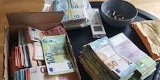 Polizei sprengt Wiener Drogenring, findet Silberschatz