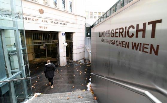 Das Straflandesgericht in Wien
