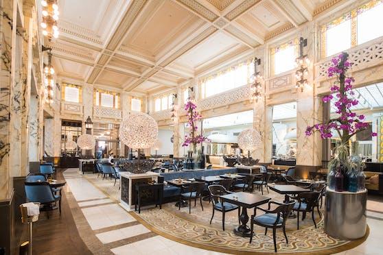 Das Hotel Park Hyatt Vienna in der Innenstadt befindet sich in einem ehemaligen Bankgebäude aus dem frühen 20. Jahrhundert.