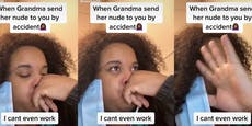 Oma schickt aus Versehen Nacktbilder an Enkelin