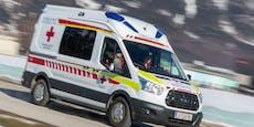 Beifahrerin (51) musste nach Crash reanimiert werden