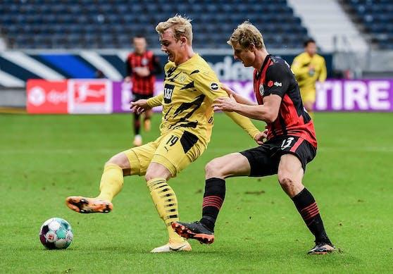 ÖFB-Legionär Martin Hinteregger im Duell gegen Borussia Dortmund.