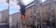 Ein Toter bei Wohnungsbrand in Wien