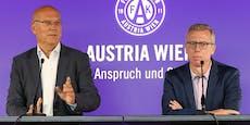 Austria-Boss: Investor entscheidet über Stöger-Zukunft