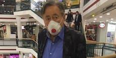 Lugner ist ohne Krücken mobil