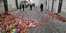 Vandalenakt auf Terror-Tatort in Wien – Polizeieinsatz
