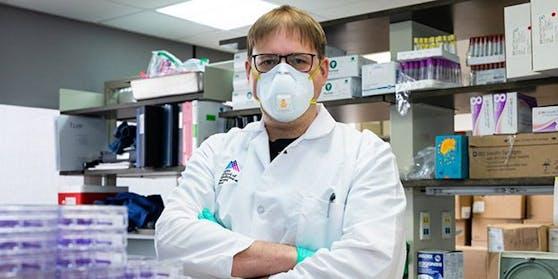 Der Weststeirer Florian Krammer, Professor für Impfstoffforschung an der medizinischen Universität des Mount Sinai Hospitals in New York