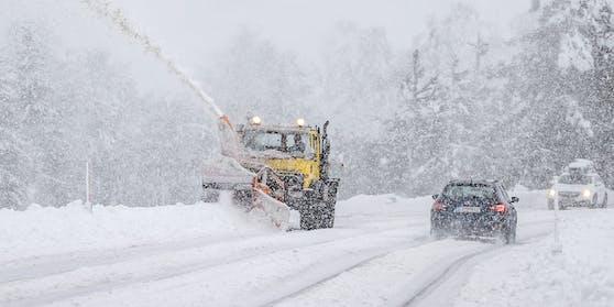 Schnee-Rückkehr in Österreich