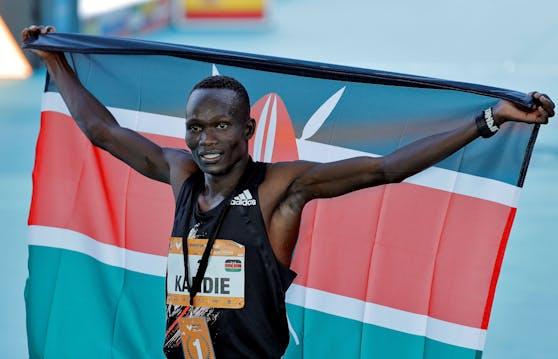 Kibiwott Kandie: Halbmarathon als erster Mensch unter 58 Minuten