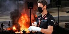 Feuer-Opfer Grosjean erhält Cockpit bei Mercedes
