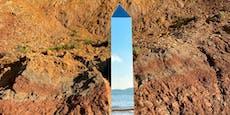 Neuer mysteriöser Monolith in England aufgetaucht