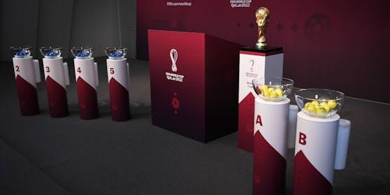 Die Auslosung der WM-Qualifikation in Zürich.