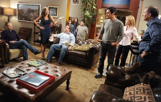 """Eine der neueren Shows auf der Liste ist """"Modern Family"""", das seit 2009 ausgestrahlt wird."""