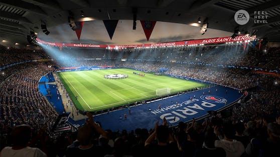 """""""FIFA 21"""" versetzt die Spieler in ein packendes Fußballerlebnis mit der EA Sports GameCam."""