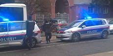 Frau in Wiener Kebabstand mit Maschinengewehr bedroht