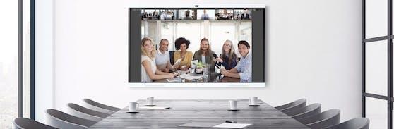 Huawei präsentiert Smart Office Tool Idea Hub.