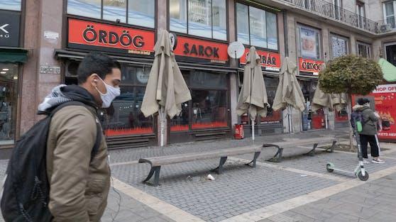 Budapest zu Lockdown-Zeiten